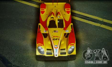 Porsche RS Spyder Evo 2008 para GTA San Andreas interior