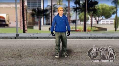 Jimmy from Bully Scholarship Edition para GTA San Andreas segunda tela