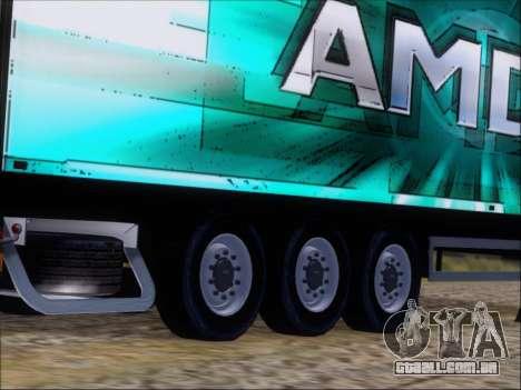 Trailer AMD Athlon 64 X2 para vista lateral GTA San Andreas