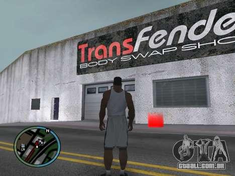 Evacuador v1.0 para GTA San Andreas