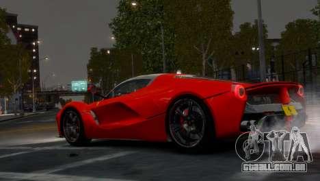 Ferrari LaFerrari WheelsandMore Edition para GTA 4 vista direita
