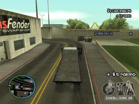 Evacuador v1.0 para GTA San Andreas sétima tela