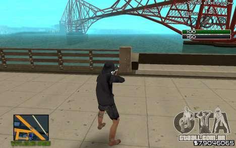 C-HUD by SampHack v.8 para GTA San Andreas segunda tela