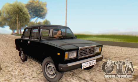 VAZ 2107 Estoque para GTA San Andreas