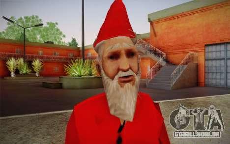 Papai Noel para GTA San Andreas terceira tela