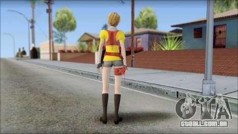 Final Fantasy XIII - Alyssa para GTA San Andreas segunda tela