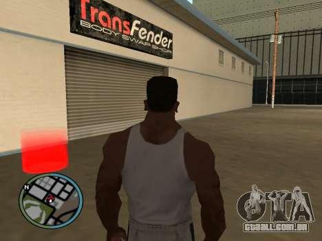 Evacuador v1.0 para GTA San Andreas terceira tela