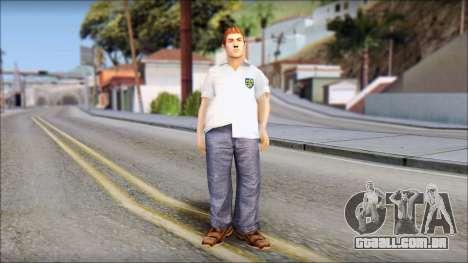 Russell from Bully Scholarship Edition para GTA San Andreas segunda tela