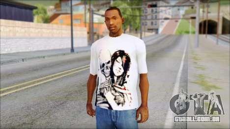 BFMV Russian Roulette T-Shirt para GTA San Andreas