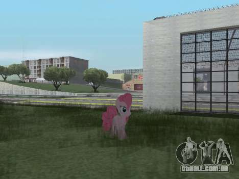 Pinkie Pie para GTA San Andreas sétima tela