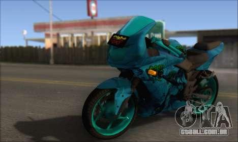 Kawasaki Ninja 250 RR Highschool DxD para GTA San Andreas
