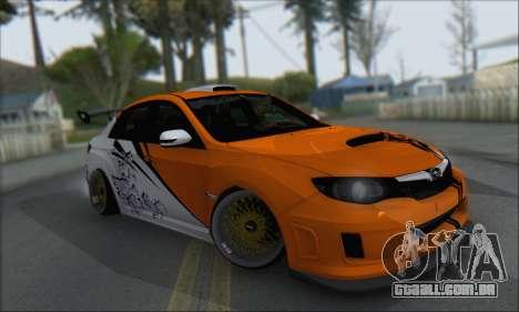 Subaru Impreza WRX STI 2010 para as rodas de GTA San Andreas