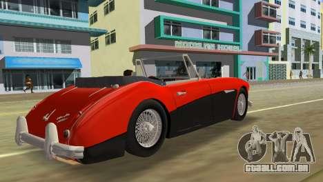Austin-Healey 3000 Mk III para GTA Vice City deixou vista