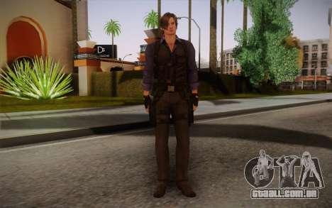 Leon Kennedy from Resident Evil 6 para GTA San Andreas