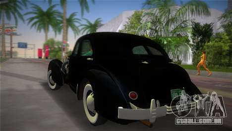 Cord 812 Charged Beverly Sedan 1937 para GTA Vice City deixou vista