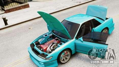 Nissan Silvia S13 v1.0 para GTA 4 vista direita