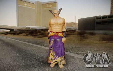 Heihachi Mishima v2 para GTA San Andreas