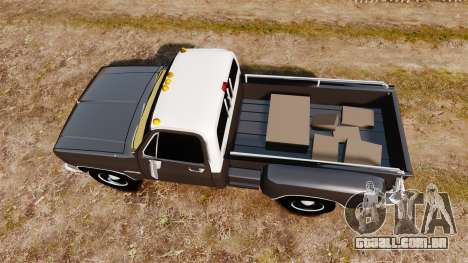 GMC 454 Pick-Up para GTA 4 vista direita