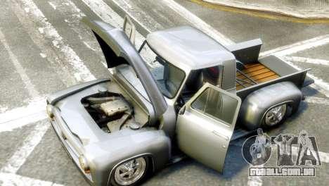Ford FR100 Stance para GTA 4 vista direita