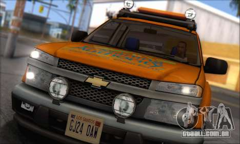 Chevrolet Colorado Cleaning para GTA San Andreas