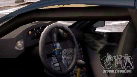 McLaren F1 GTR para GTA 4 traseira esquerda vista