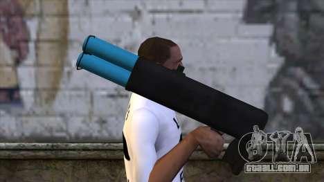 M20 BRS Rocket Launcher para GTA San Andreas terceira tela