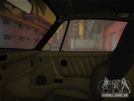 Porsche 911 Turbo 3.3 Coupe US-spec (930) 1978 para GTA Vice City vista interior