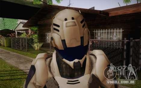 Suit from Vanquish para GTA San Andreas terceira tela