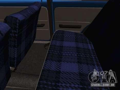 VAZ 2101 Coupé para GTA San Andreas vista traseira