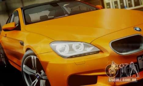 BMW M6 F13 2013 para o motor de GTA San Andreas