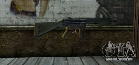 Mexican Army G-3 para GTA San Andreas segunda tela