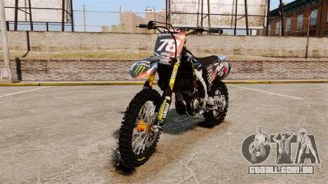 Yamaha YZF-450 v1.13 para GTA 4