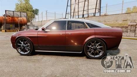 Spyker D8 para GTA 4 esquerda vista