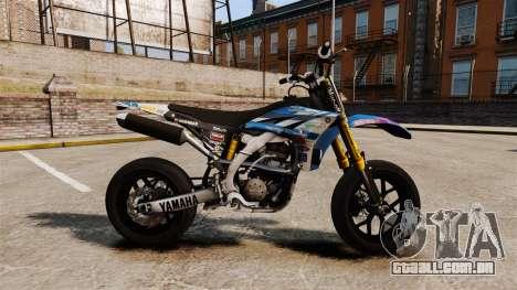 Yamaha YZF-450 v1.19 para GTA 4 esquerda vista