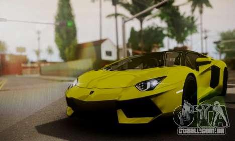 Lamborghini Aventador TT Ultimate Edition para vista lateral GTA San Andreas