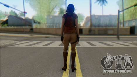 Helena Harper para GTA San Andreas segunda tela