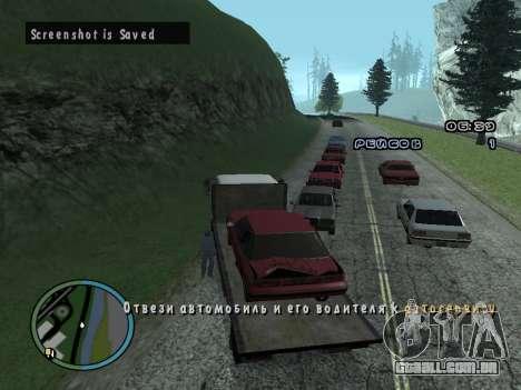Evacuador v1.0 para GTA San Andreas sexta tela