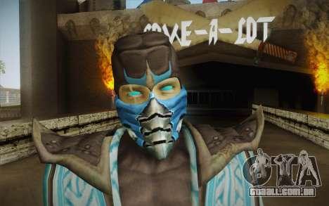 Sub Zero Skin v2 para GTA San Andreas terceira tela