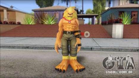 Leomon para GTA San Andreas segunda tela