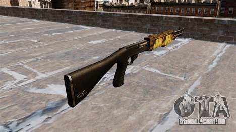 Arma Franchi SPAS-12 de Outono para GTA 4 segundo screenshot
