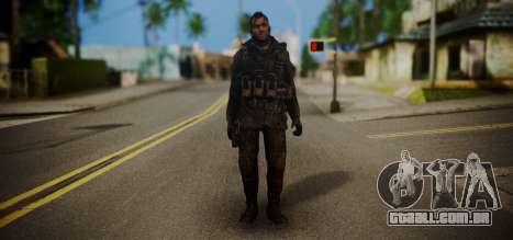John Soap MacTavish para GTA San Andreas