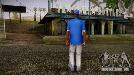 Sweet Blue Skin para GTA San Andreas segunda tela