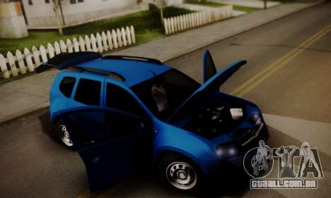 Lada Duster para GTA San Andreas vista superior