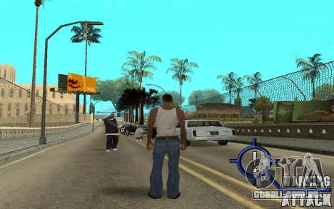 Warning Attack para GTA San Andreas segunda tela