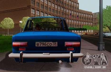 VAZ 2101 Coupé para GTA San Andreas traseira esquerda vista