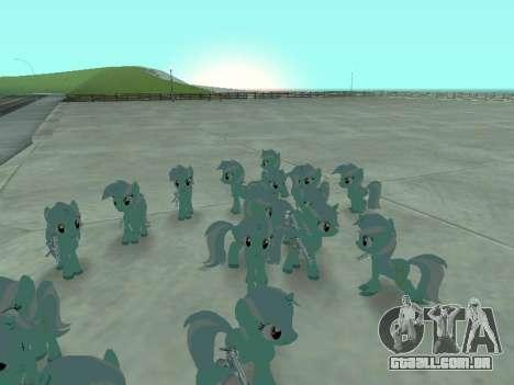 Lyra para GTA San Andreas terceira tela