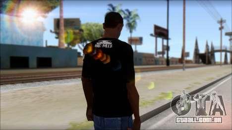 I am Awesome T-Shirt para GTA San Andreas segunda tela