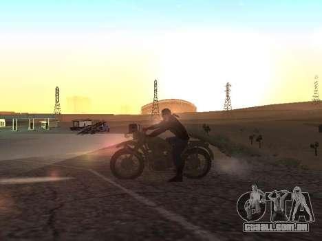 Ural M72 para GTA San Andreas esquerda vista