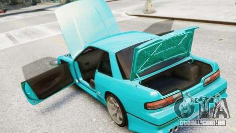 Nissan Silvia S13 v1.0 para GTA 4 vista de volta