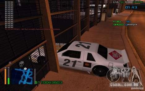 Andar através de paredes para GTA San Andreas